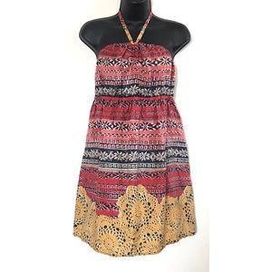 Anthropologie Lilka Silk Dress